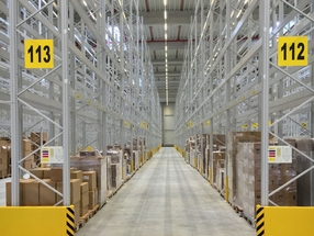 Inside Warehouse Facility Frankfurt