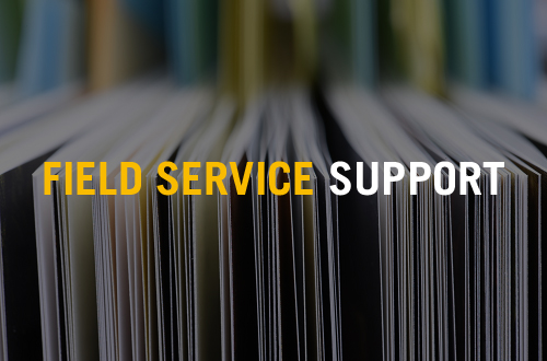 Supply Chain Solutions for Field Service Support